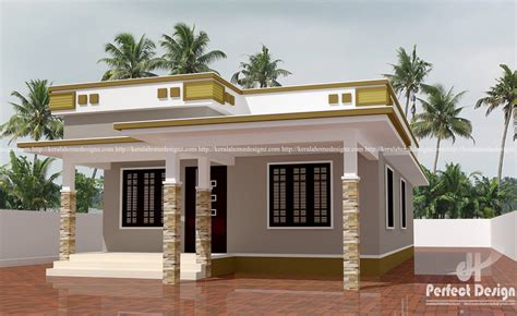 home designes simple contemporary home design kerala home design