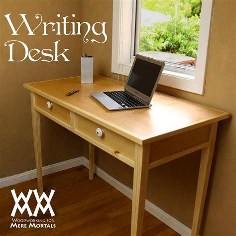 elegant writing desk  plans wwmm furniture