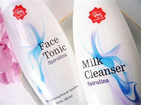 Toner Dan Milk Cleanser Viva viva tonic milk cleanser spirulina silver