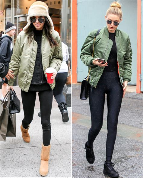 Jaket Bomber Crop Army how to wear a bomber jacket like a