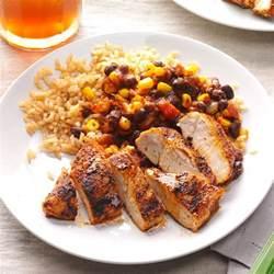 dinner supplies black bean chicken with rice recipe taste of home