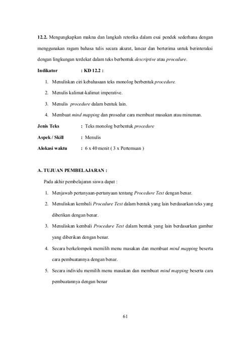 teks prosedur membuat es buah dalam bahasa inggris ptk bahasa inggris