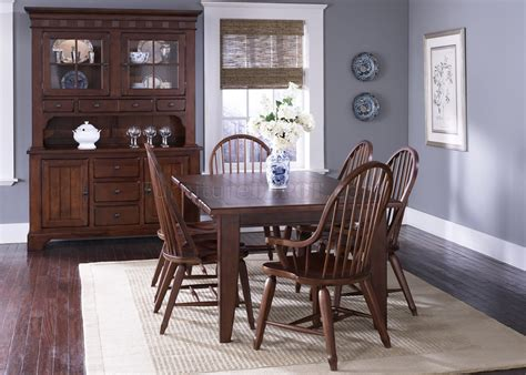 Rustic Formal Dining Table Rustic Cherry Finish Formal Dining Room Table W Options