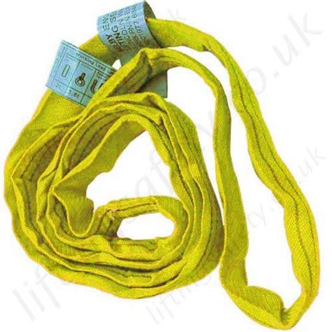 Webbing Sling Kuning 3 T X 8 M Jason polyester lifting slings endless lifting slings