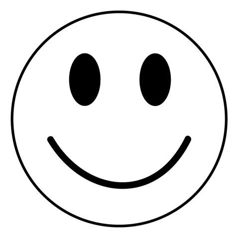 Smile White black and white smiley cliparts co