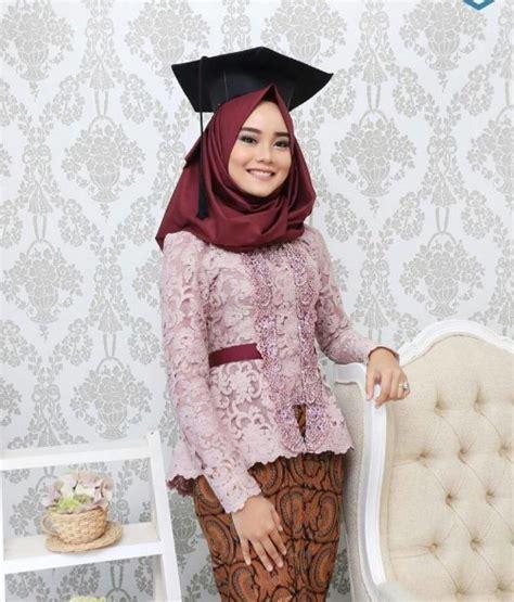 tutorial hijab buat kebaya 32 model hijab wisuda cantik dan simple 2017 2018 model baru