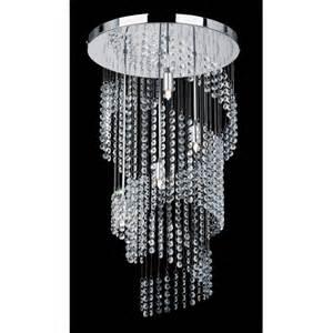 Lights And Chandeliers Endon 91290 4 Light Modern Chandelier Spiral Design Chrome Finish Design Bookmark 3152
