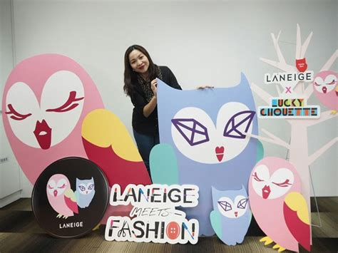 Laneige X Lucky Chouette Limited Clotch laneige x lucky chouette 2016 meets fashion