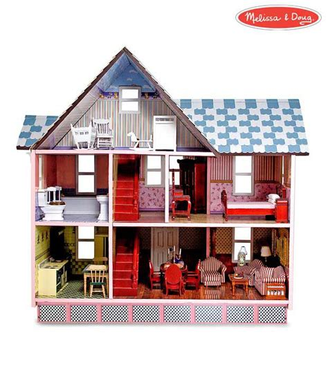 melissa and doug doll house melissa and doug victorian dollhouse buy melissa and doug victorian dollhouse online