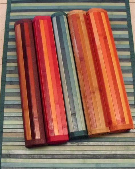 Stuoia Bamboo - tappeto stuoia bamboo tappeto in legno 63 images stuoie