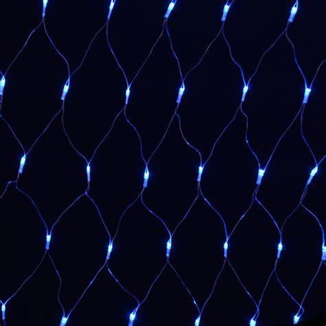 180 bulb multi action blue festive net light indoor