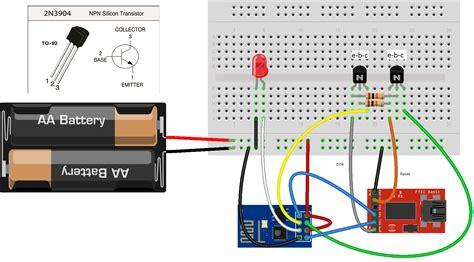 transistor lifier arduino error on uploading program to esp8266 via foca v2 2 usb to ttl adapter arduino stack exchange