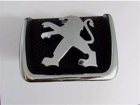 Aksesoris Logo Emblem Vnturboori Lelang Emblem Logo Depan Peugeot 307