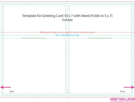 5x7 card template publisher 5 215 7 postcard template template business