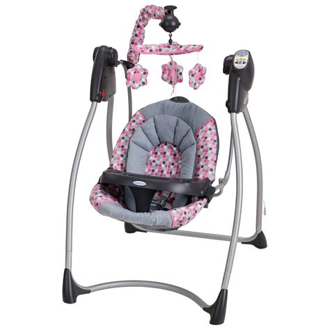 baby swing for girl graco lovin hug baby swing ally at hayneedle