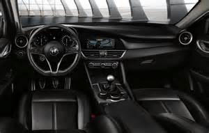Alfa Romeo Giulia Interior Awd Alfa Romeo Giulia Veloce Headed To Motor Show