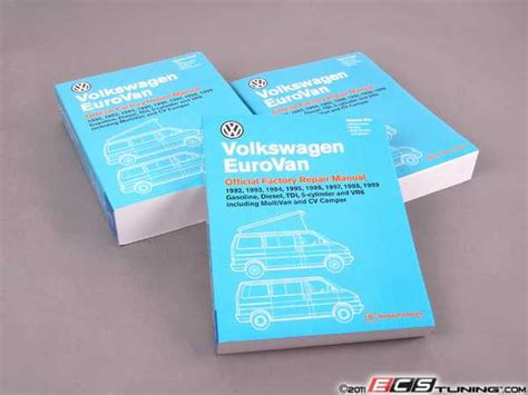 Bentley Vv99 Eurovan 92 99 Service Manual Paperback