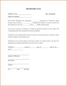 demand promissory note template doc 400530 promissory note template word promissory