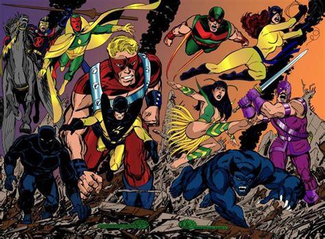 avengers by john byrne vengadores byrne by namorsubmariner super herues