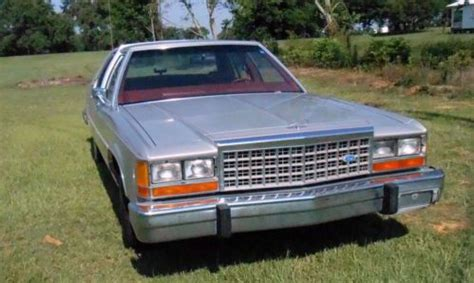 old car manuals online 1985 ford ltd crown victoria auto manual find used classic 1985 ford ltd crown victoria 4s near mint only 50 257 actual miles see in
