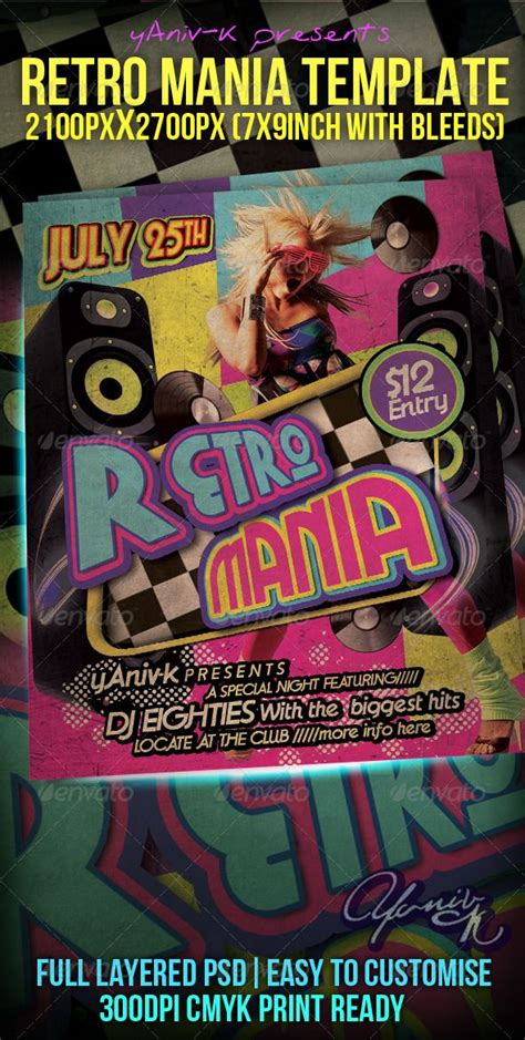 Best Club Flyer Fonts