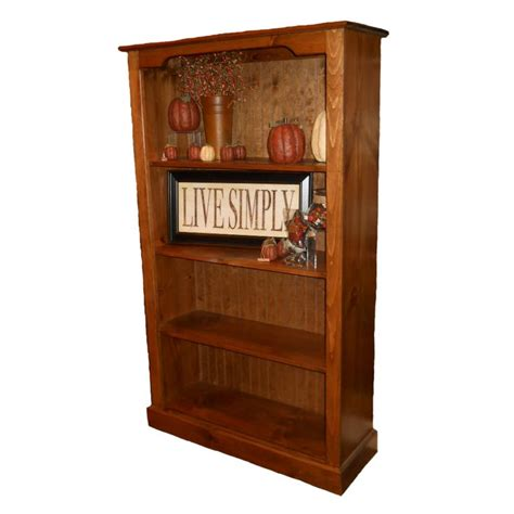 7 Ft Bookcase Accent 5 Foot Bookcase Bookcases