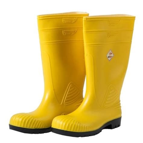 chemical boots ansell aps splash suit boots pvc yellow size 11 gloves