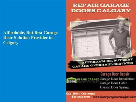 Quality Garage Door Services by Top Quality Garage Door Services In Calgary