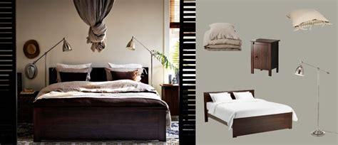 brusali bedroom brusali brown bed with bedside tables and barometer nickel