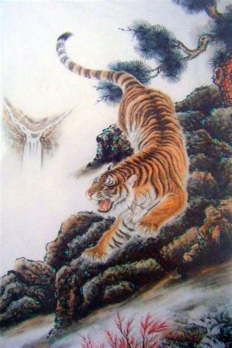 climbing tiger tattoo designs 22 best images about shisa fu on oni mask