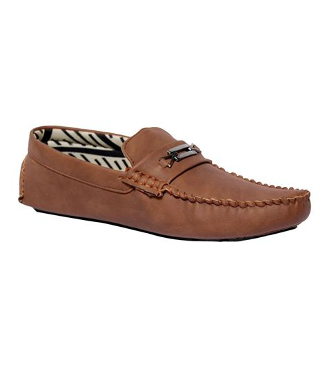 mall shoes for shoe mall brown synthetic leather slip on casual shoes for