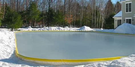 hockey rink in backyard backyard ice skating rinks savol pools