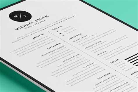 Modern Resume 35 best resume templates of 2016 dzineflip