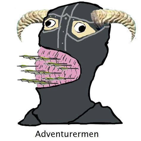 Gentlemen Meme Face