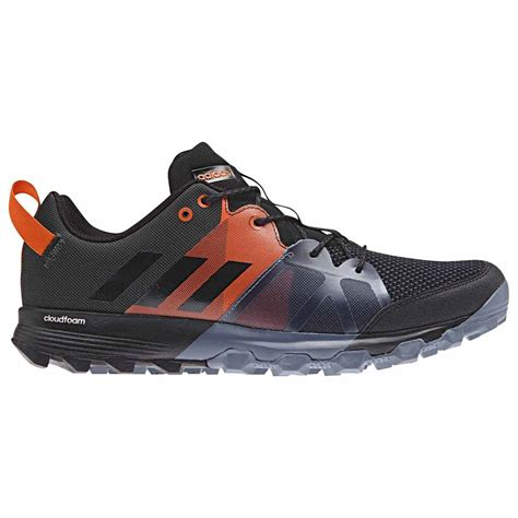 Adidas Kanadia 01 adidas kanadia 8 1 tr carbon black orange runnerinn
