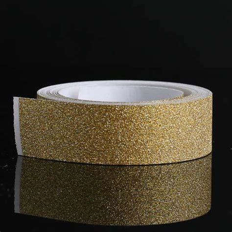 Gold Sparkle Glitter Tape   Scrapbooking   Craft Supplies