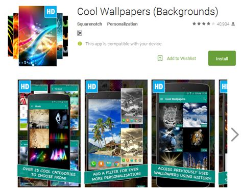 cool apps for android cool wallpaper apps