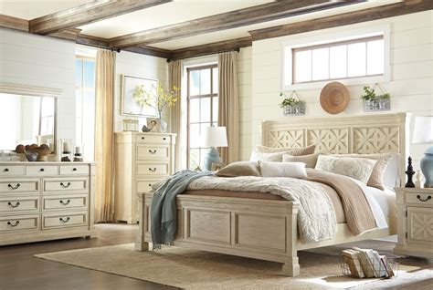 bolanburg white panel bedroom set  ashley coleman furniture