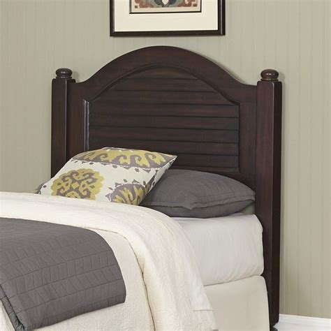 wood twin headboard wood shutter twin headboard in espresso 5542 401