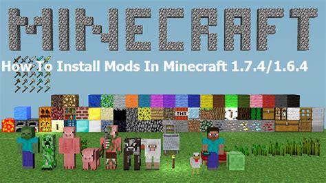 minecraft game console mod 1 6 4 minecraft mods 1 7 4 pc download