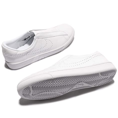 Nike Tennis Classic Slip On Blackwhite Original Made In Indonesia wmns nike tennis classic ease white shoes sneakers