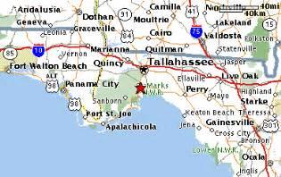 crawfordville florida map maps