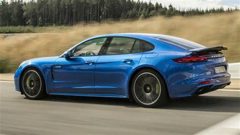 Porsche Panamera Turbo S Sound by 2018 Blue Panamera Turbo S E Hybrid Exhaust Sound 680