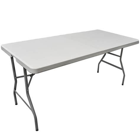 6 Foot Plastic Folding Table 6 Plastic Folding Banquet Table
