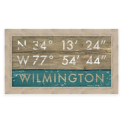 bed bath and beyond wilmington nc wilmington nc coordinates framed wall art bed bath