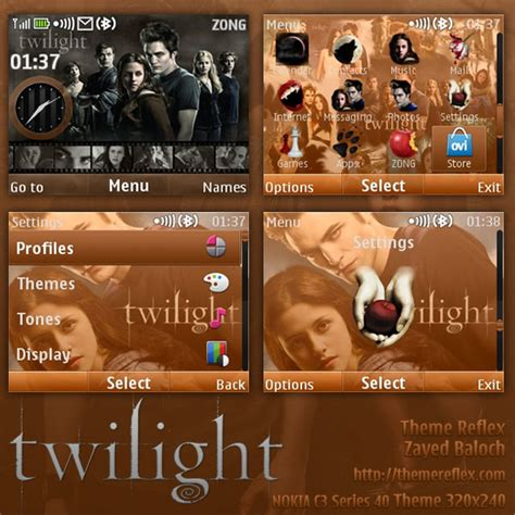 Twilight Themes For Nokia X2 01 | twilight theme for nokia c3 x2 01 themereflex