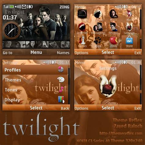 X2 Twilight twilight theme for nokia c3 x2 01 themereflex