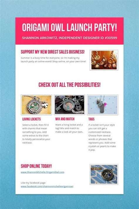 Origami Owl Brochure - the world s catalog of ideas