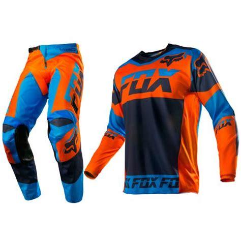 fox motocross kit kit cal 231 a camisa fox 180 mako mx parts