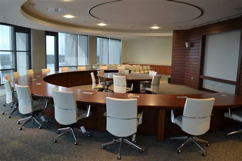 Circle Meeting Table Custom Boardroom Tables Conference Tables Unique Concepts
